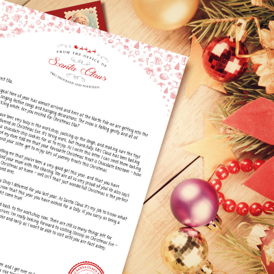 Make Your Kids Happy With Personalised Letter From Santa